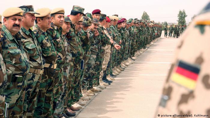 آلمان علاوه بر کمکهای تسلیحاتی دورههای آموزشی نیز برای پیشمرگهها گذاشته است