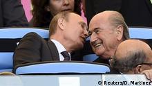 FIFA Blatter Krise Putin mit Blatter