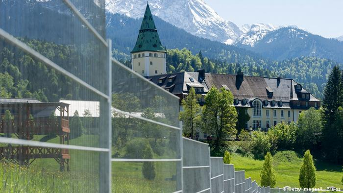 Замок Ельмау в Баварії прийматие саміт G7