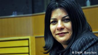 Konferenz über Frauen und Gewalt Luz Mejía
