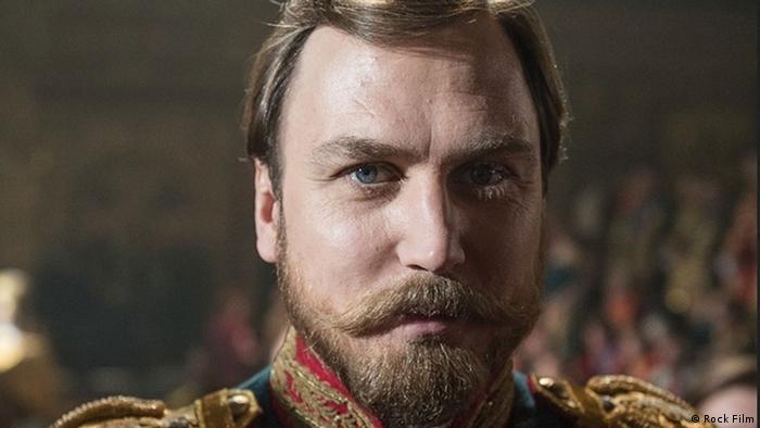 Lars Eidinger als Zar Nikolaus II. Porträt. (Foto: Rock Film)