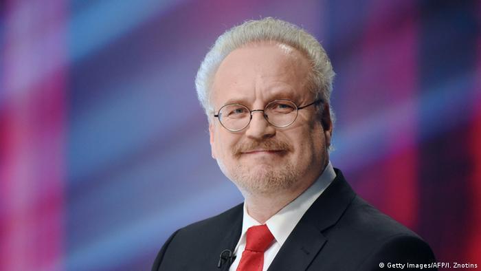 Президент Латвии Эгилс Левитс