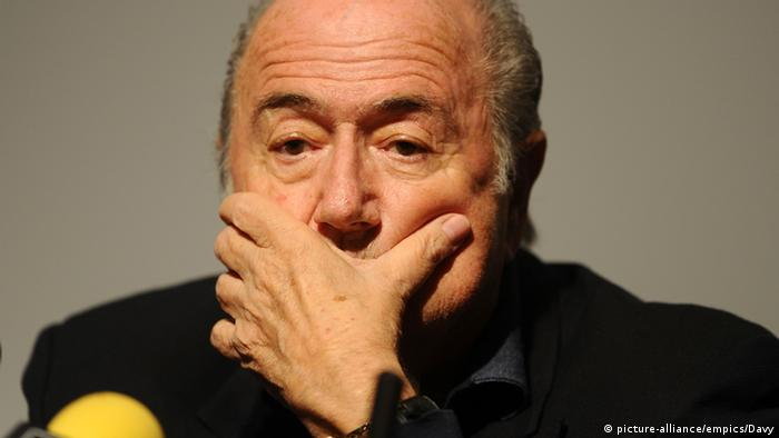 Joseph Blatter. Foto: picture-alliance/empics/