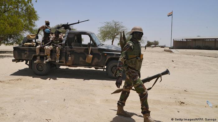 Symbolbild Soldaten Nigeria