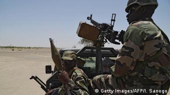 Symbolbild Soldaten Nigeria (Getty Images/AFP/I. Sanogo)
