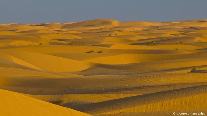 Mauretanien - Wüste (picture-alliance/dpa)