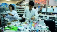 China Pharmabranche Gesundheitsmarkt Gesundheitssystem Symbolbild (picture-alliance/Imaginechina)