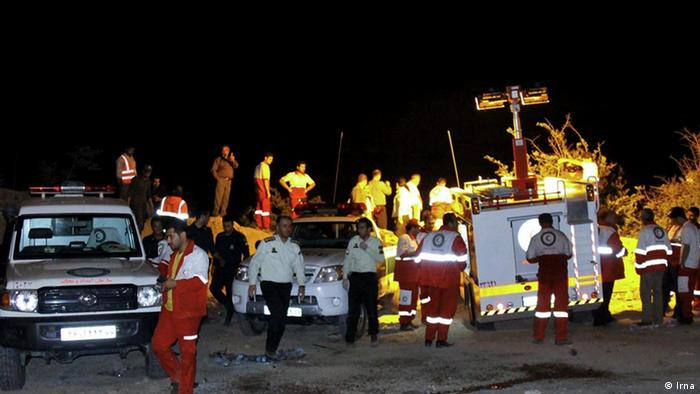 Iran Verkehr Autounfall (Bildergalerie) (Irna)