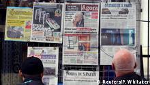 Brasilien Zeitungen berichten über den Rücktritt von Sepp Blatter