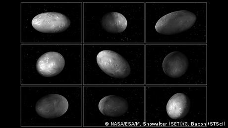 Pluto moon Nix NASA Hubble Telescope Pluto