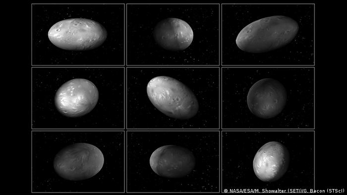 Pluto's moons take on spheroid shapes