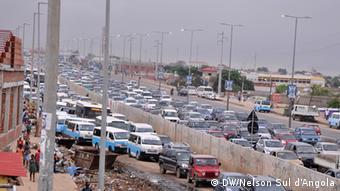 Angola Verkehrsstau in Luanda