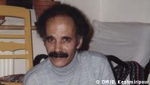 Titel: der iranische Schriftsteller Houshang Golshiri bei einer Lesung in Hannover 1994. Quelle: Behzad Keshmiripour (Mitarbeiter von DW Farsi) Rechte: DW/B. Keshmiripour