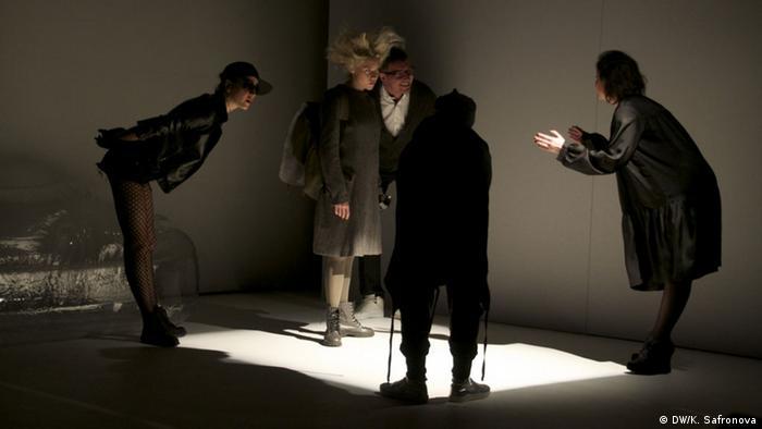 Сцена из спектакля Золушка