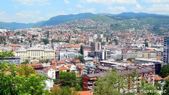 Bosnien und Herzegowina Sarajevo Panorama