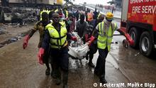 Ghana Tankstellenexplosion in Accra