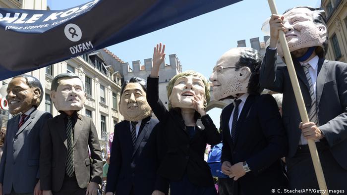 Протести проти саміту G7 у Гарміш-Партенкірхені
