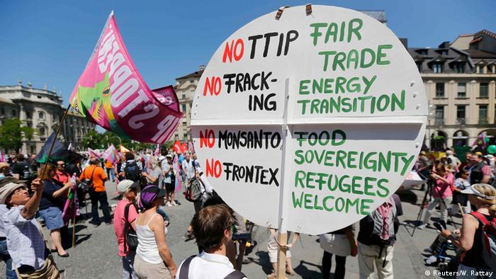Deutschland G7 Gipfel Proteste