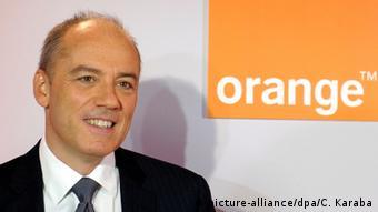 Frankreich Vorstandsvorsitzender von France Telecom Stephane Richard