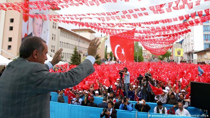 Türkei Wahlkampf Recep Tayyip Erdogan