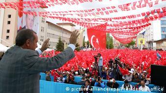 اردوغان میگوید: پیروزی با ماست