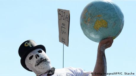 Deutschland München Anti G7 Gipfel Proteste (Getty Images/AFP/C. Stache)