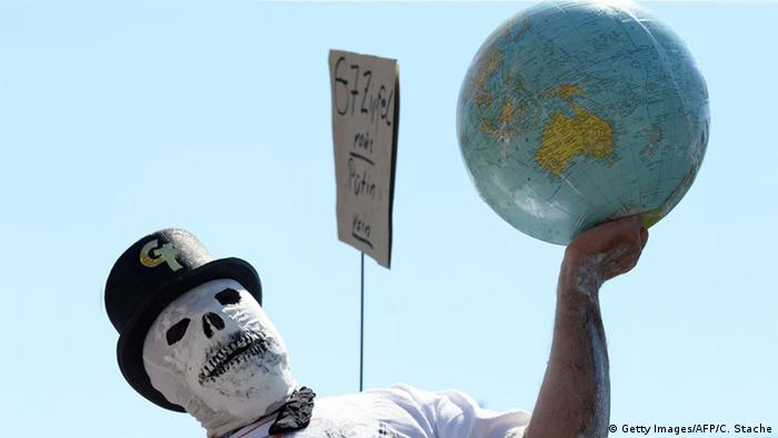 Anti-G7 protest in Munich (Getty Images/AFP/C. Stache)