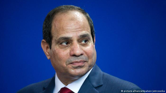 Berlin Pressekonferenz Merkel al-Sisi