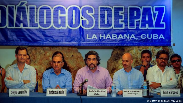 Kuba Friedensgespräche Kolumbien FARC Ankündigung Wahrheitskommission