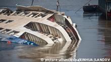 China Yangtze Fluss Eastern Star Passagierschiff Bergung