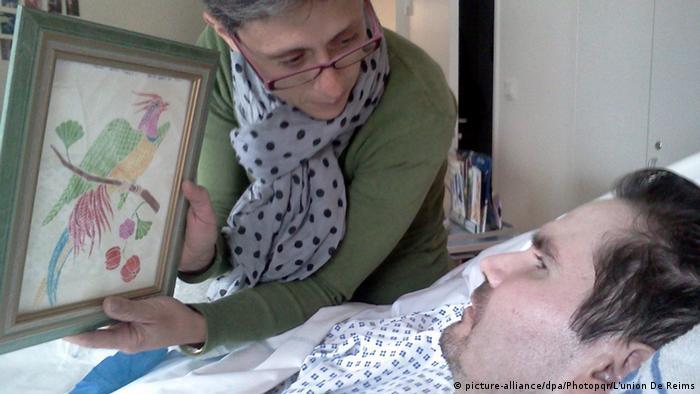 Frankreich Vincent Lambert im Krankenaus in Reims