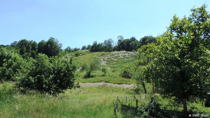 Erozija tla u blizini Lopara