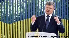 Ukraine - Pressekonferenz von Petro Poroschenko
