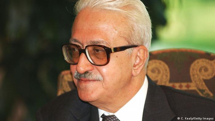 طارق عزیز، وزیر خارجه عراق در دوران صدام حسین