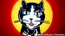 Roy Lichtenstein Laughing Cat