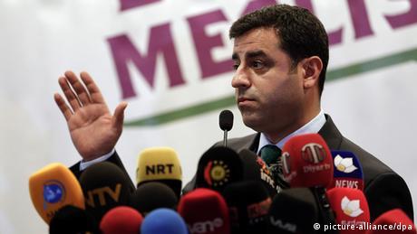 Türkei - HDP Kovorsitzender Selahattin Demirtas