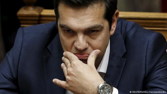 Griechenland - Alexis Tsipras spricht im Parlament