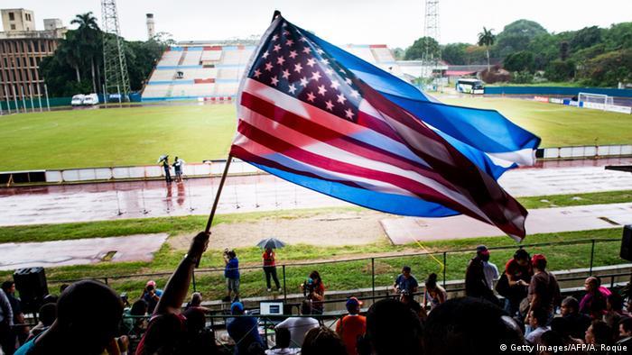 New York Cosmos spielen gegen Havanna