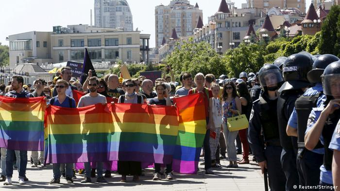 Ukraine gay pride parade