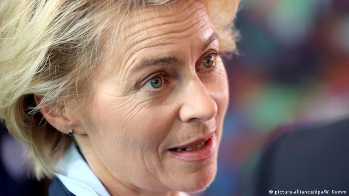 Ursula von der Leyen, Bundesverteidigungsministerin (Foto: dpa/picture alliance)
