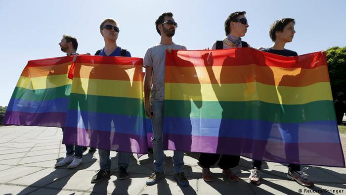 Гей-парад в Киеве (фото из архива).