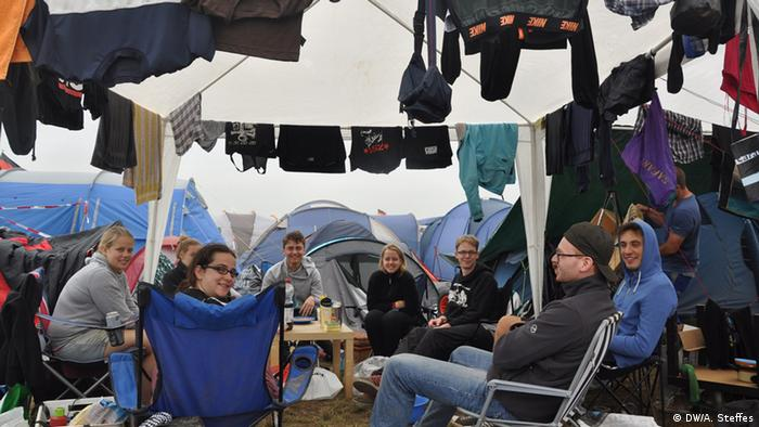 Rock am Ring Nach dem Sturm