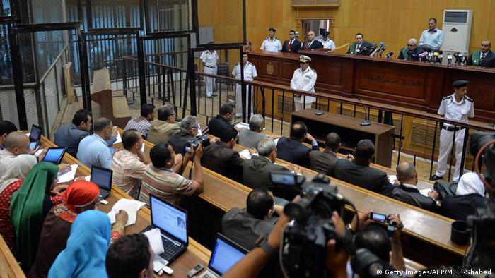 Ägypten Gericht Symbolbild (Getty Images/AFP/M. El-Shahed)
