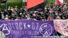 Anti-G7-Demonstration in Garmisch-Partenkirchen