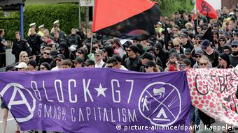 Anti-G7-Demonstration in Garmisch-Partenkirchen