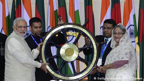 Indien und Bangladesch regeln jahrzehntealten Grenzstreit (Getty Images/AFP/M.U. Zaman)
