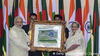 Indien und Bangladesch regeln jahrzehntealten Grenzstreit