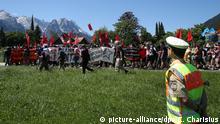 G7 Gipfel Garmisch-Partenkirchen Demonstranten