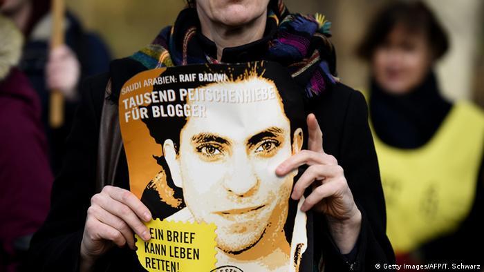Raif Badawi Amnesty International Demo