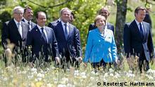 G7 Gipfel Schloss Elmau Teilnehmer Gruppenfoto